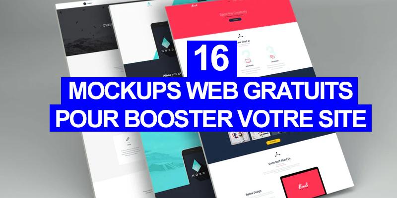 16 Mockups Web gratuits pour booster votre site
